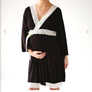 Belabumbum Lotus Kimono maternity robe